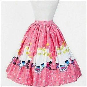 Mary Blair Train Skirt by Pinup Couture